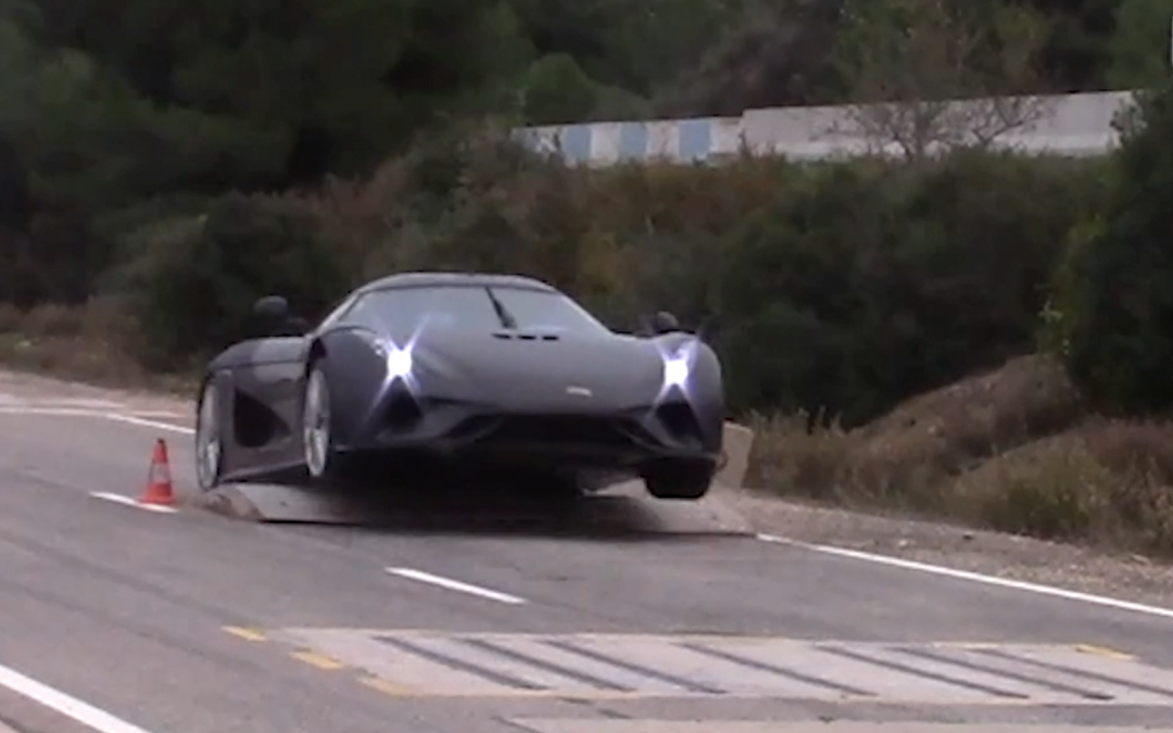 How To Crash Test a $2 Million Koenigsegg Hypercar
