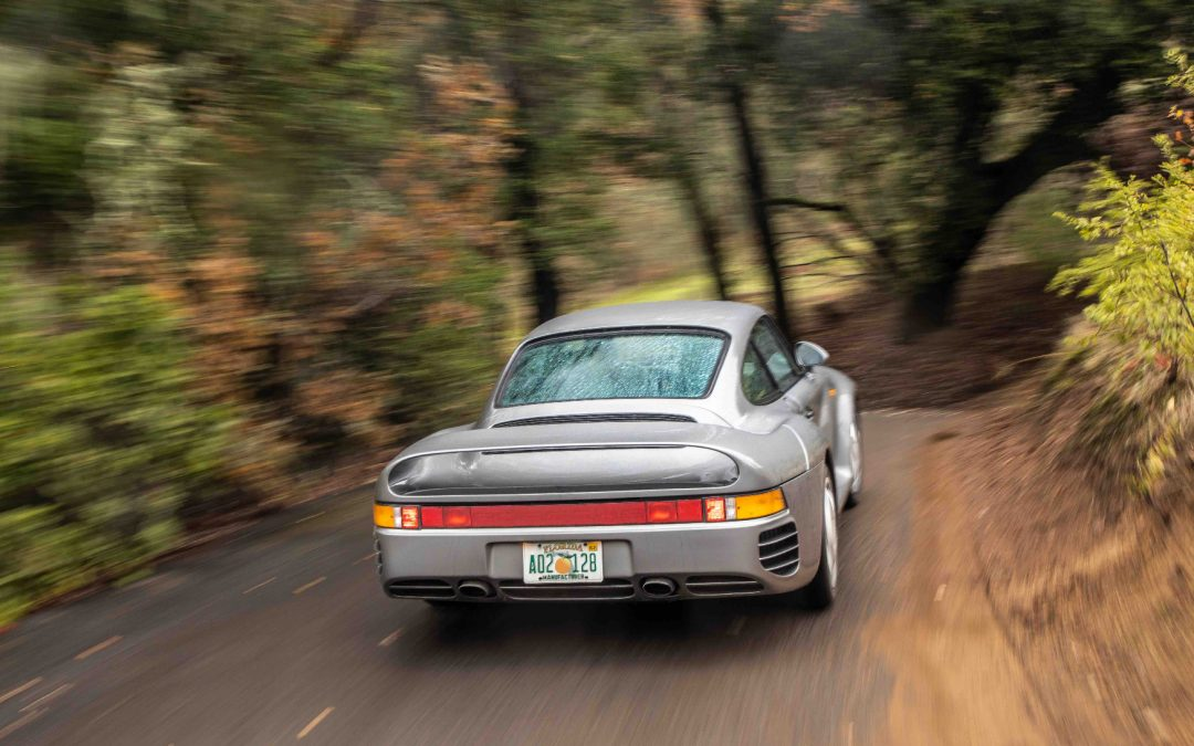 Porsche 959 – Pure Driving Footage