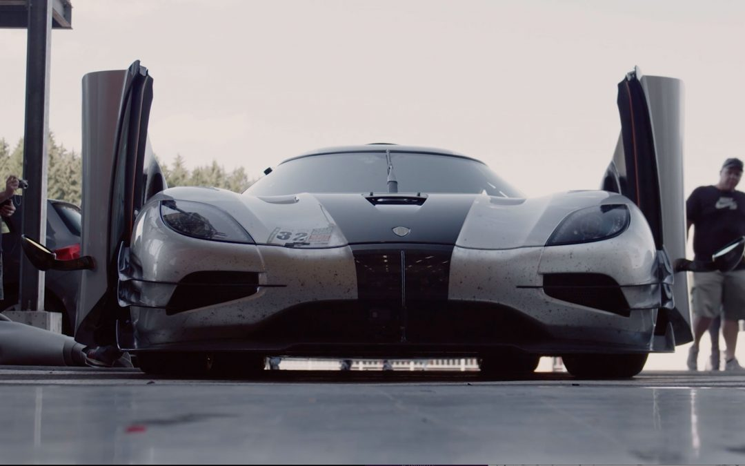 Koenigsegg's One:1 Record Attempt at Spa-Francorchamps: Raw In-Car