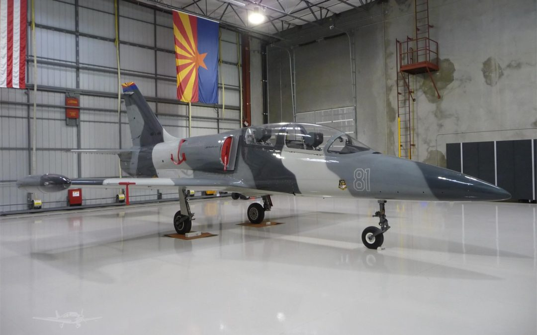 FOR SALE: This L-39 Albatros is the Lamborghini Huracan of military jets