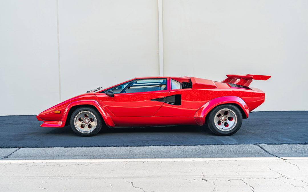 There is no bad angle of this Lamborghini Countach LP400 S