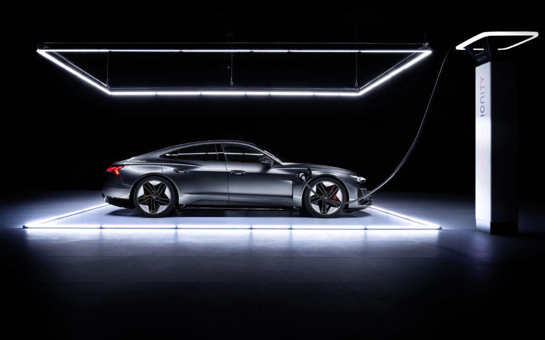 The Audi e-tron GT looks fantastic
