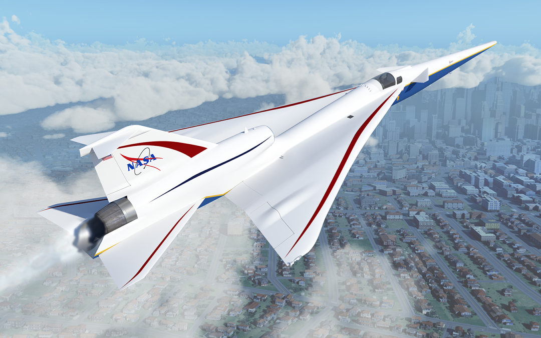 X-59 QueSST: Why Nasa is making quieter sonic booms