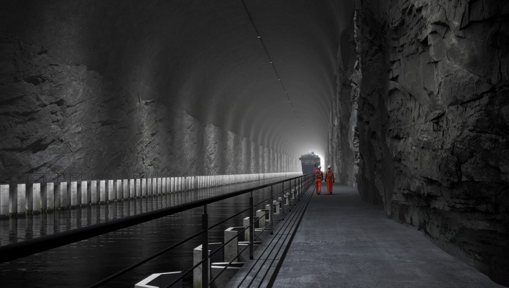 Behold, the world's first ship tunnel